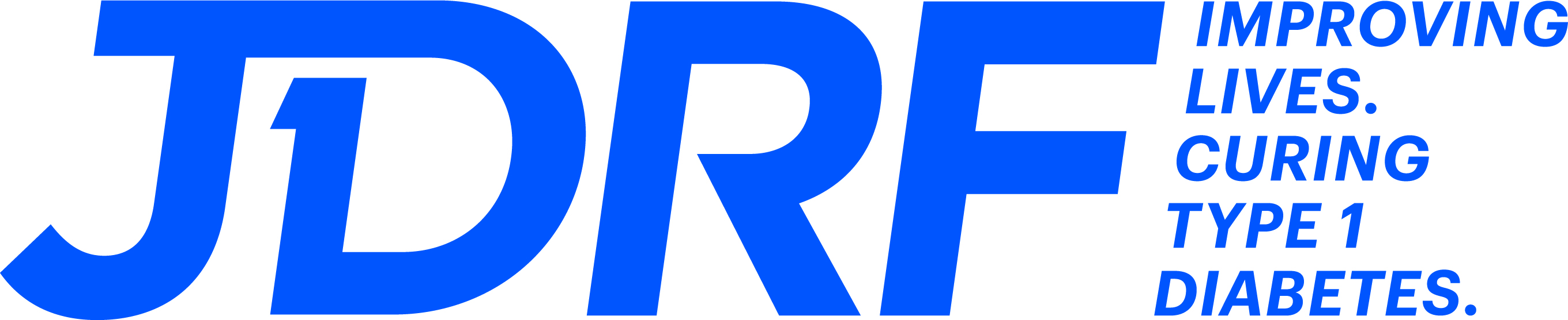 JDRF, the type 1 diabetes charity logo