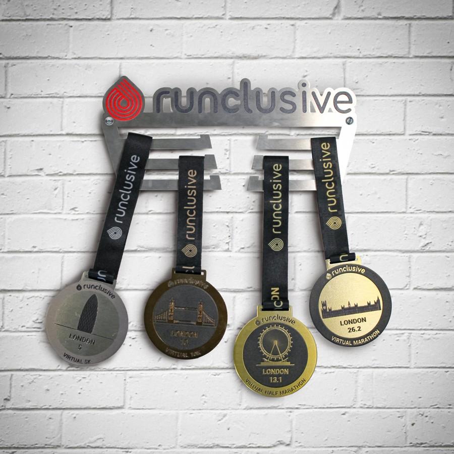 runclusive Medal Hanger